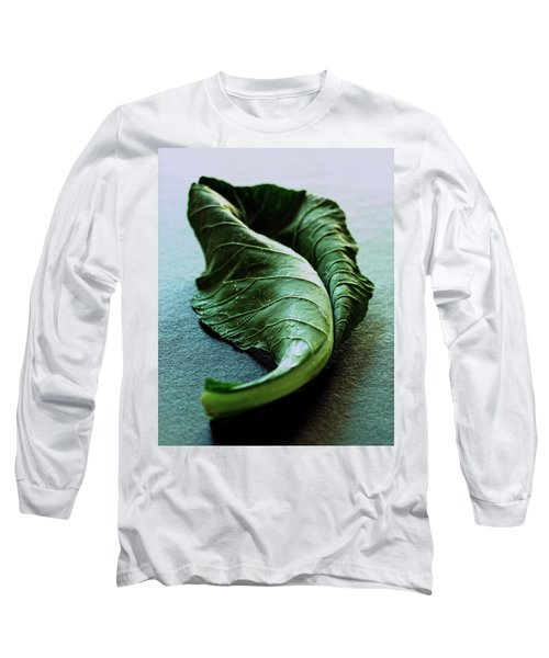A Collard Leaf Long Sleeve T-Shirt