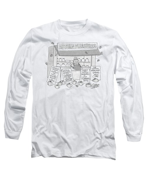 A Country Stand With The Title Long Sleeve T-Shirt