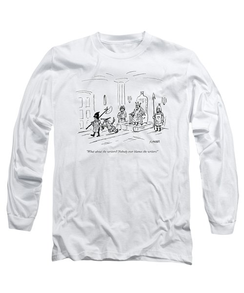 A Court Jester Says To The King Long Sleeve T-Shirt