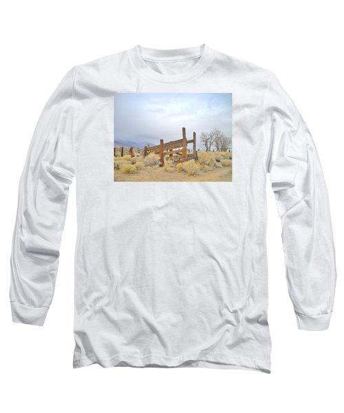 A Cowboys Echo Long Sleeve T-Shirt by Marilyn Diaz