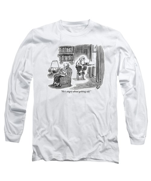 A Crabby-looking Long Sleeve T-Shirt