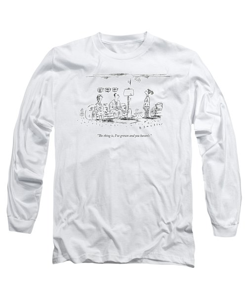 A Daughter Talks To Her Parents Long Sleeve T-Shirt