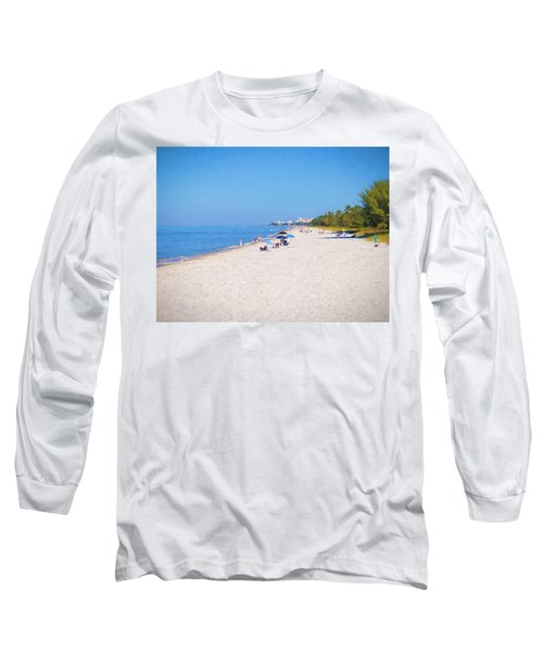 A Day At Naples Beach Long Sleeve T-Shirt