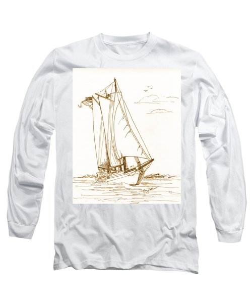 A Day On The Bay Long Sleeve T-Shirt