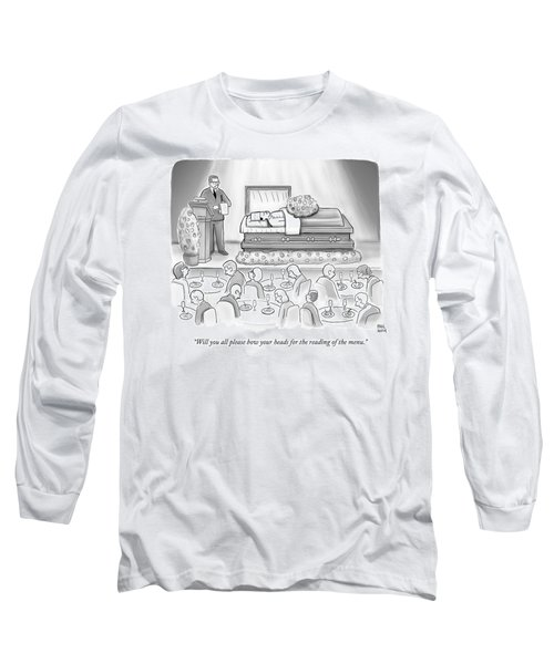 A Dead Chef Is In A Casket And A Bunch Of People Long Sleeve T-Shirt