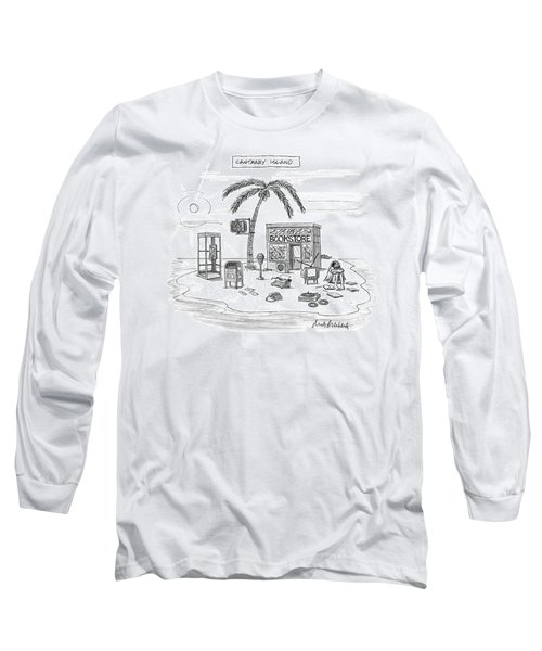 A Desert Island Full Of Outdated And Obsolete Long Sleeve T-Shirt