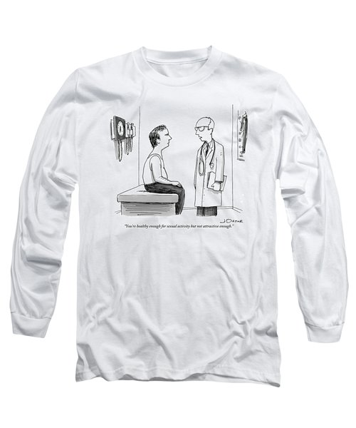 A Doctor Explains To His Male Patient Long Sleeve T-Shirt