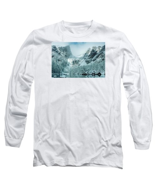 A Dream At Dream Lake Long Sleeve T-Shirt by Eric Glaser
