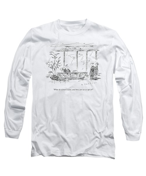 A Executive Speaks To His Two Employees Long Sleeve T-Shirt