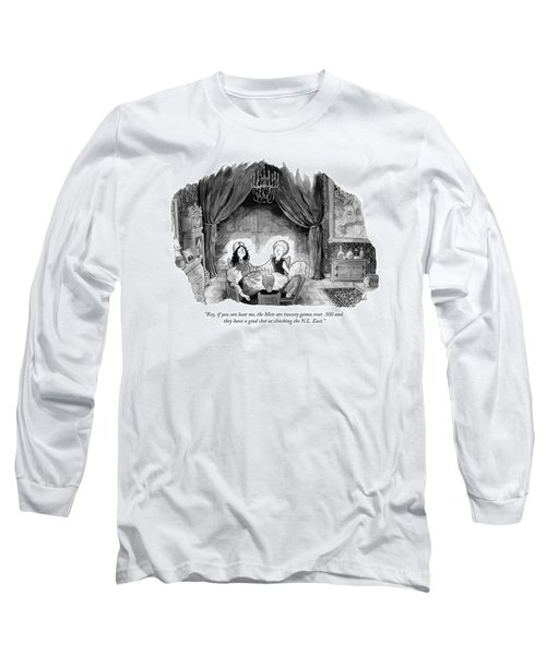 A Family Holds Hands In A Circle With A Psychic Long Sleeve T-Shirt