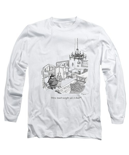 A Fat Zoro Is Being Shown A New House Long Sleeve T-Shirt