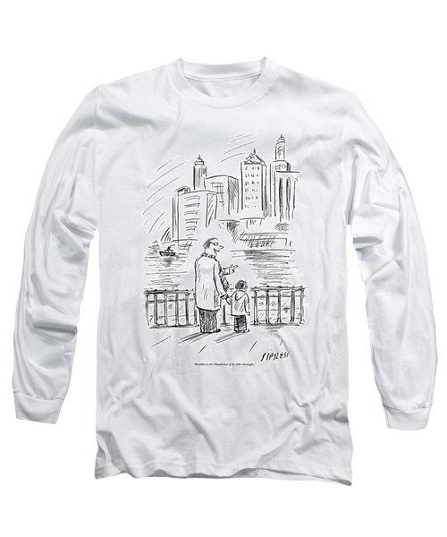 A Father And Son In Brooklyn Look Long Sleeve T-Shirt