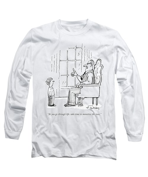 A Father Speaks To His Son Long Sleeve T-Shirt