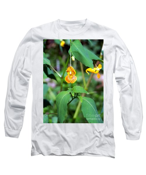 Long Sleeve T-Shirt featuring the photograph A Fragile Flower by Chalet Roome-Rigdon