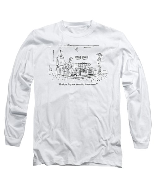 A Frustrated Teenager Addresses Both Long Sleeve T-Shirt