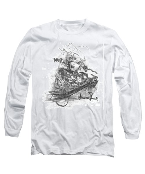 A Great Musician Long Sleeve T-Shirt by Laurie L