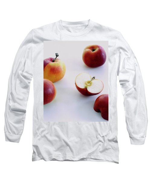 A Group Of Apples Long Sleeve T-Shirt
