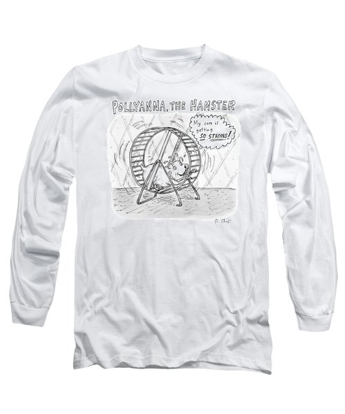 A Hamster Runs On A Wheel Thinking My Core Long Sleeve T-Shirt