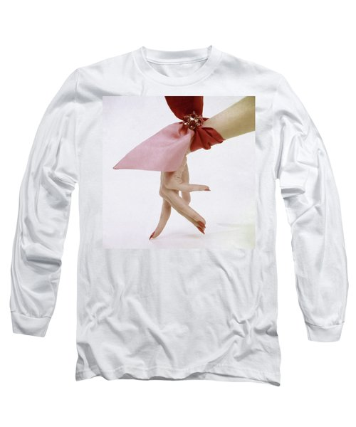 A Hand With A Wrist Scarf Long Sleeve T-Shirt