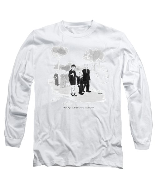 A Husband And Wife At A Funeral Comfort Long Sleeve T-Shirt