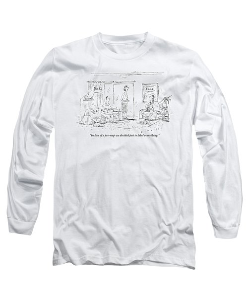 A Husband And Wife Talk To A Friend Long Sleeve T-Shirt