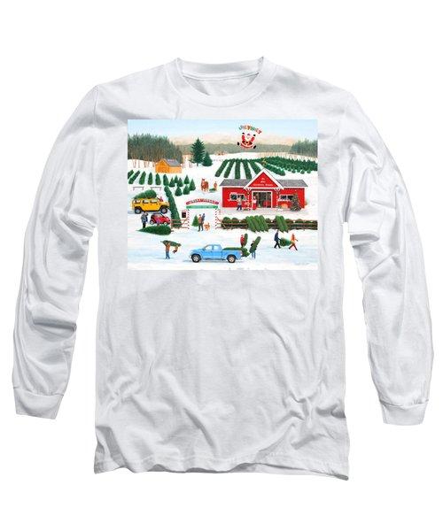 A Jolly Holly Holiday Long Sleeve T-Shirt