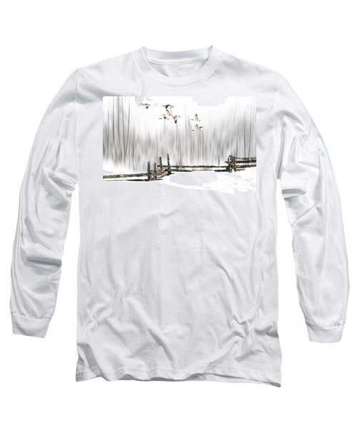 A Little Winter Magic Long Sleeve T-Shirt by Andrea Kollo