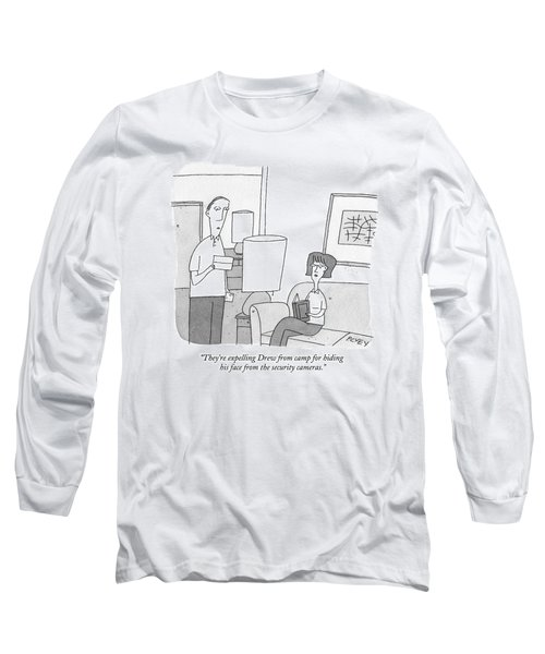 A Man Reads A Letter Aloud To His Wife Long Sleeve T-Shirt