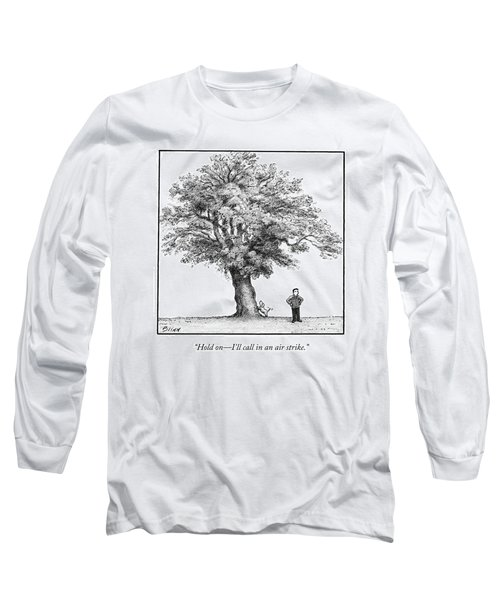 A Man Says To His Dog Long Sleeve T-Shirt