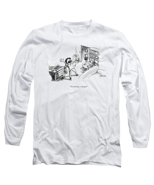 Everything Is Charged Long Sleeve T-Shirt