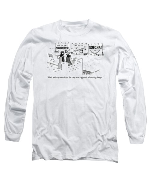 A Medieval Guard And A King Look Long Sleeve T-Shirt