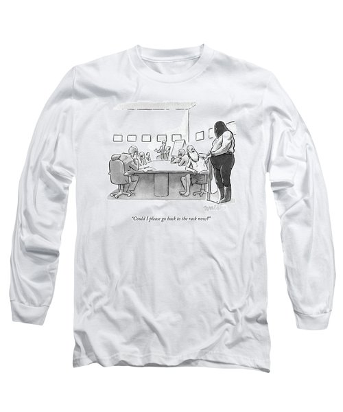 A Medieval Prisoner And Executioner Partake Long Sleeve T-Shirt