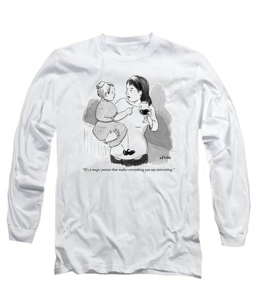 A Mother Explains To Her Young Daughter Who Long Sleeve T-Shirt