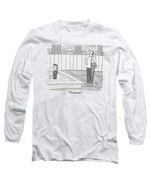 A Mother Has Taken Her Child Long Sleeve T-Shirt