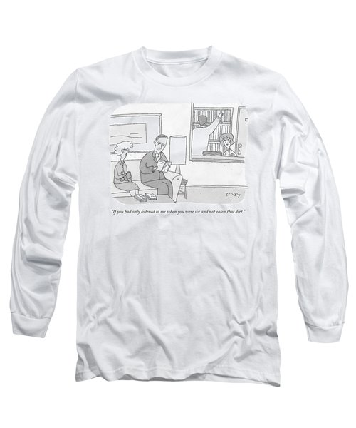 A Mother Speaks To Her Son Long Sleeve T-Shirt