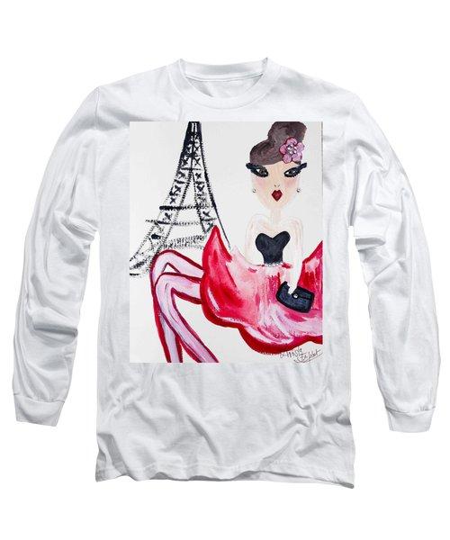 A Night In Paris Long Sleeve T-Shirt