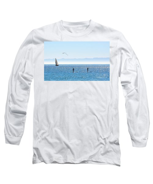 A Perfect Santa Barbara Day Long Sleeve T-Shirt