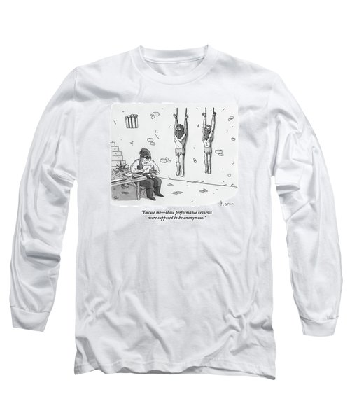 A Prisoner In A Dungeon Speaks To A Torturer Who Long Sleeve T-Shirt