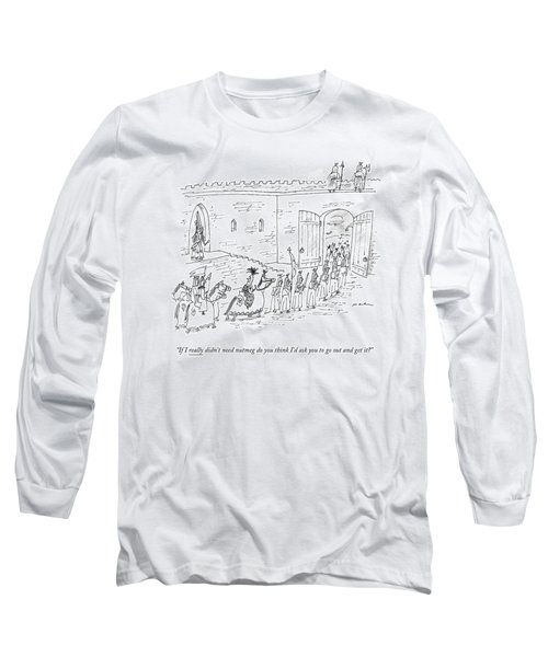 A Queen Calls Out To The King Long Sleeve T-Shirt