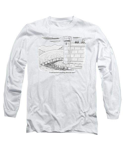 A Queen Speaks To The King As They Overlook Long Sleeve T-Shirt
