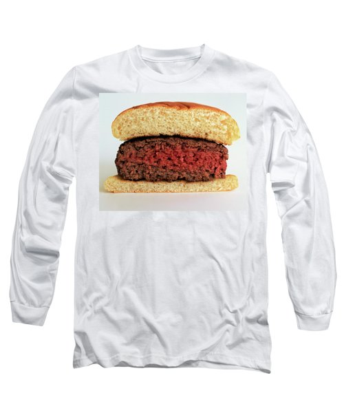A Rare Hamburger Long Sleeve T-Shirt