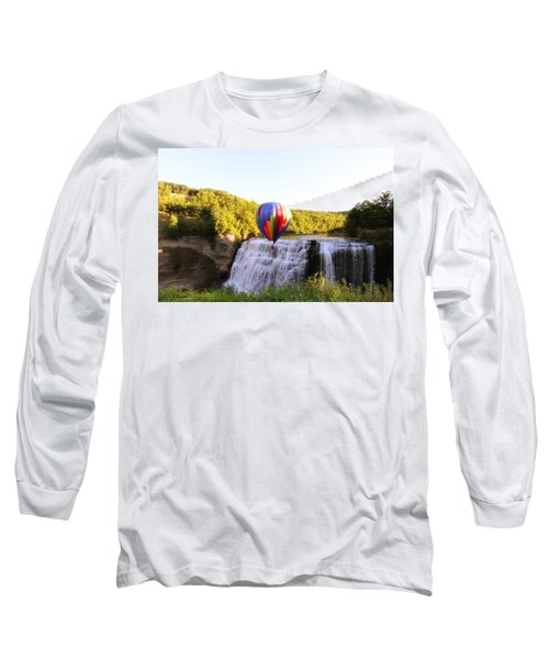 A Ride Over The Falls Long Sleeve T-Shirt