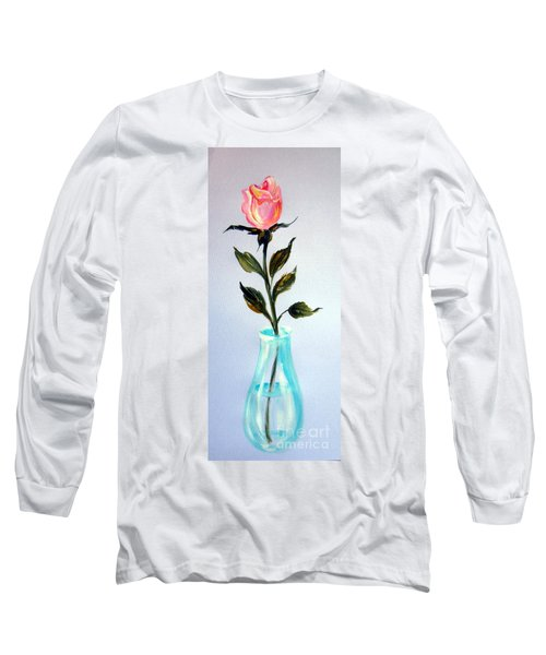 A Rose For My Lovely Gordana Long Sleeve T-Shirt
