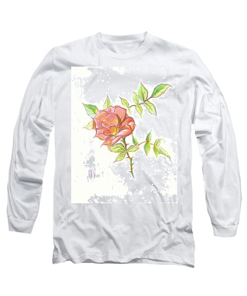 A Rose In Brigadoon Long Sleeve T-Shirt