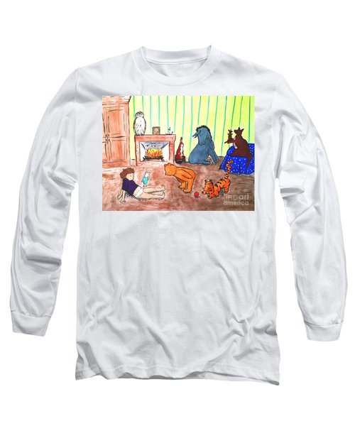 A Row Of Toes Long Sleeve T-Shirt