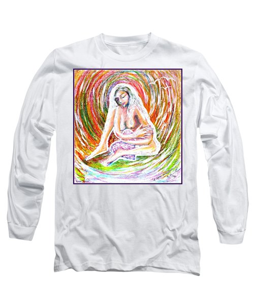 A Safe Heart Long Sleeve T-Shirt by Leanne Seymour