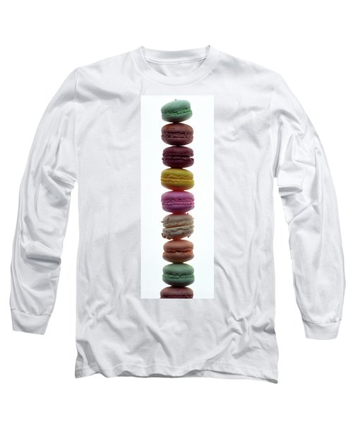 A Stack Of Macaroons Long Sleeve T-Shirt