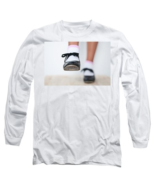 Old Tap Dance Shoes From Dance Academy - A Step Forward Tap Dance Long Sleeve T-Shirt