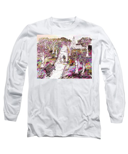 A Stroll In Autumn Long Sleeve T-Shirt