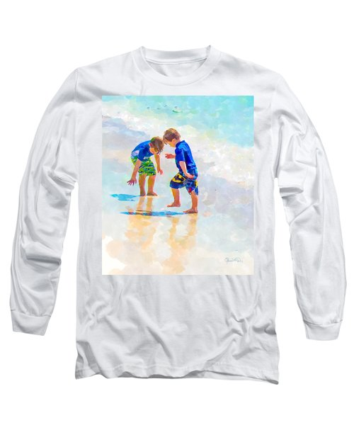 A Summer To Remember Iv Long Sleeve T-Shirt by Susan Molnar